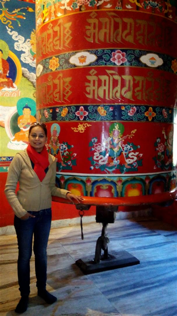 Prayer Wheel at Lachung Monastery