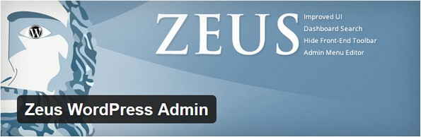 Zeus WordPress Admin plugin