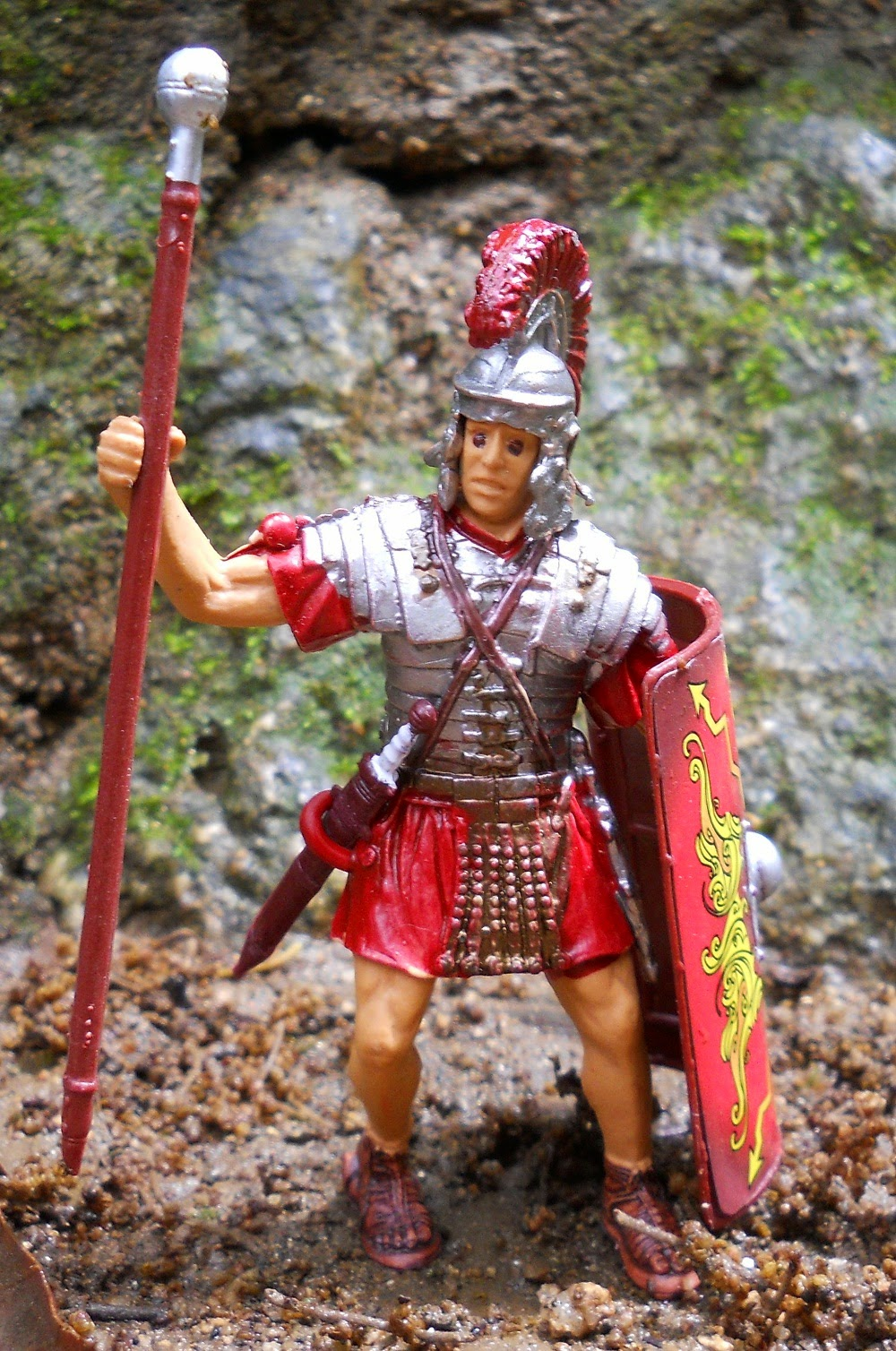 figura de legionario romano