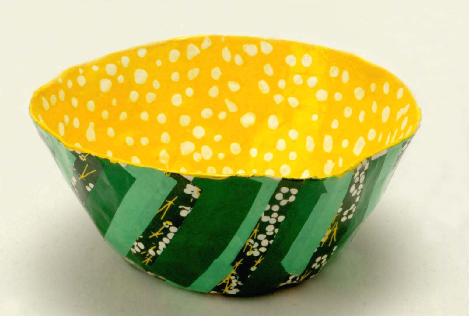 Art For Small Hands Papier Mch Layered Bowls