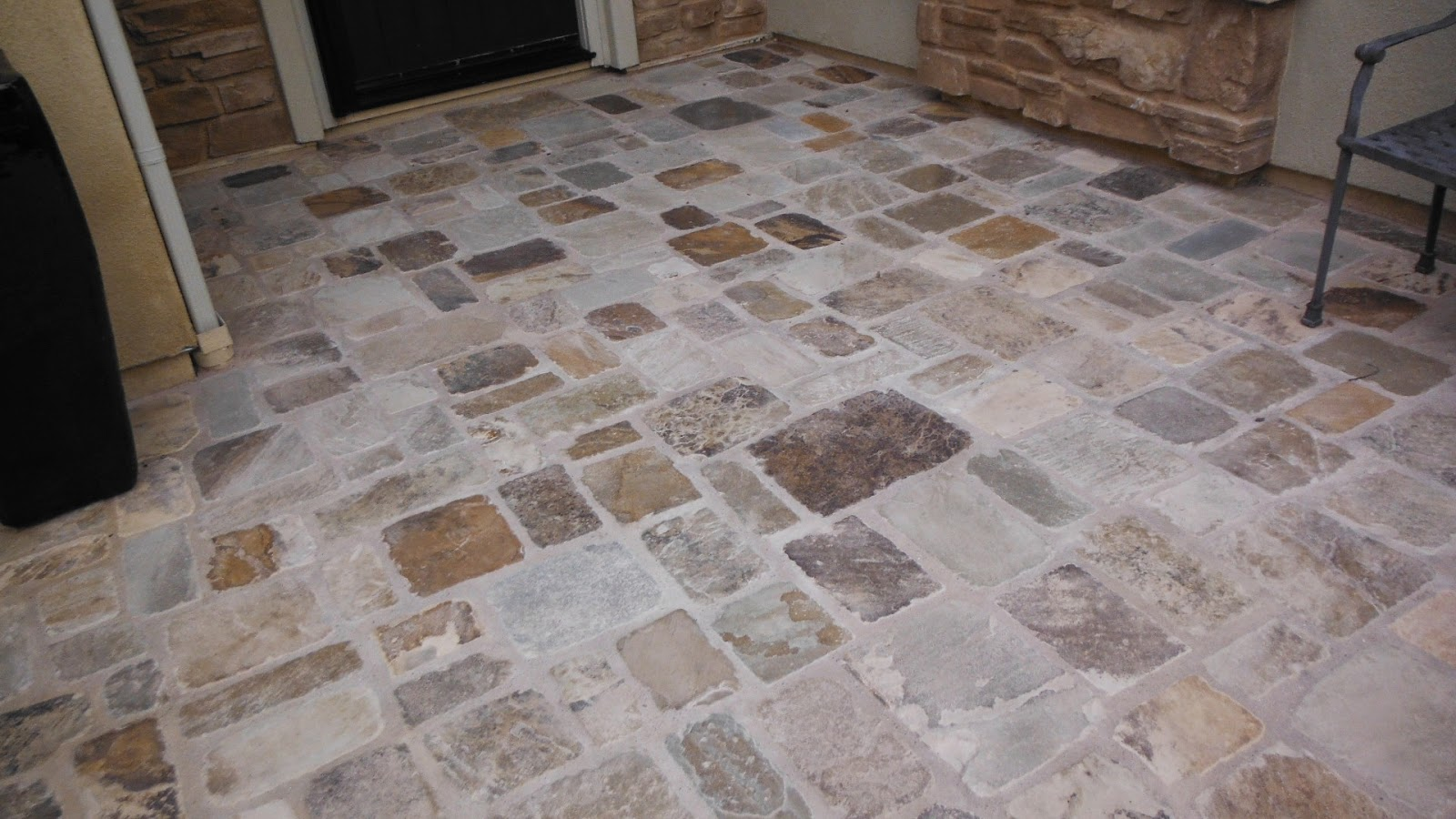 Natural Stone Pavers : The minute gardener photo natural stone pavers