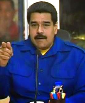 "Maduro asegura que apagón de Venezuela se  debió a ""rafagos"" o un huracán en el Furria"