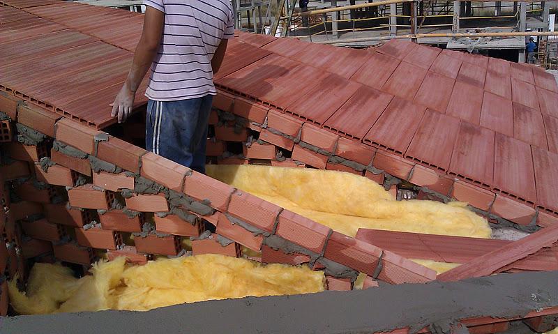Tabique palomero del tejado tejados y cubiertas naves for Tejados prefabricados