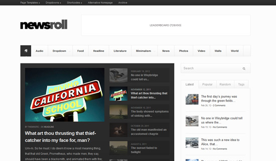 best news wp theme 2013