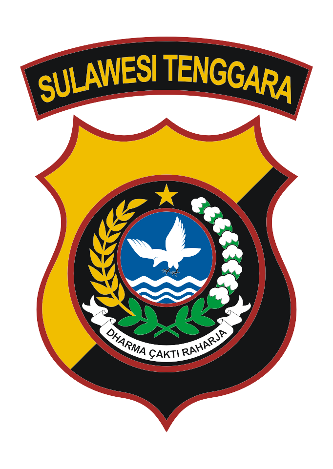 Download Logo Polda Sulawesi Tenggara Vector