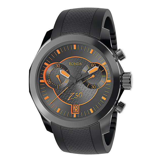 Ronda Xtratech Z50 2-Eye Chronograph 13¼'''