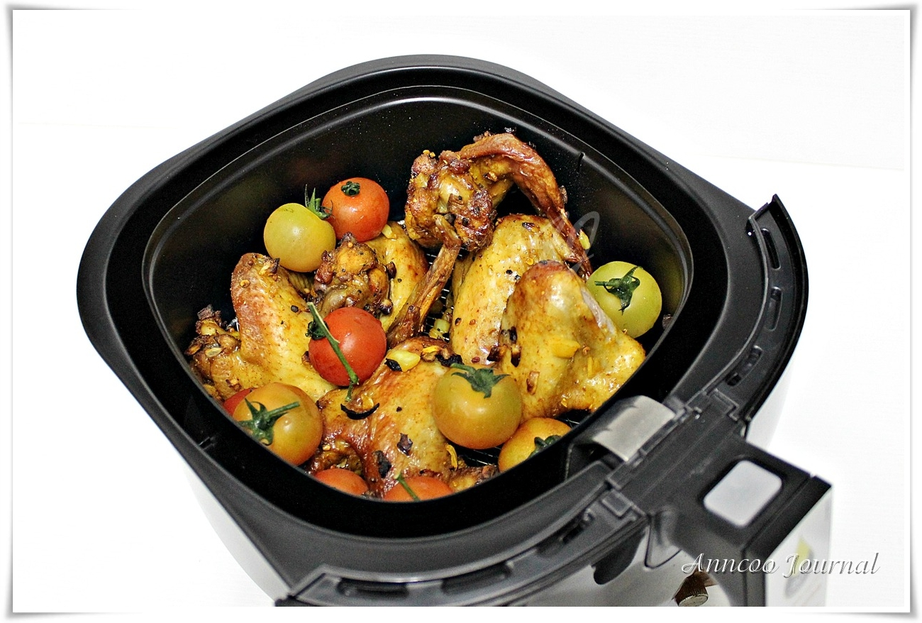 roasted chicken wings and potatoes anncoo journal. Black Bedroom Furniture Sets. Home Design Ideas