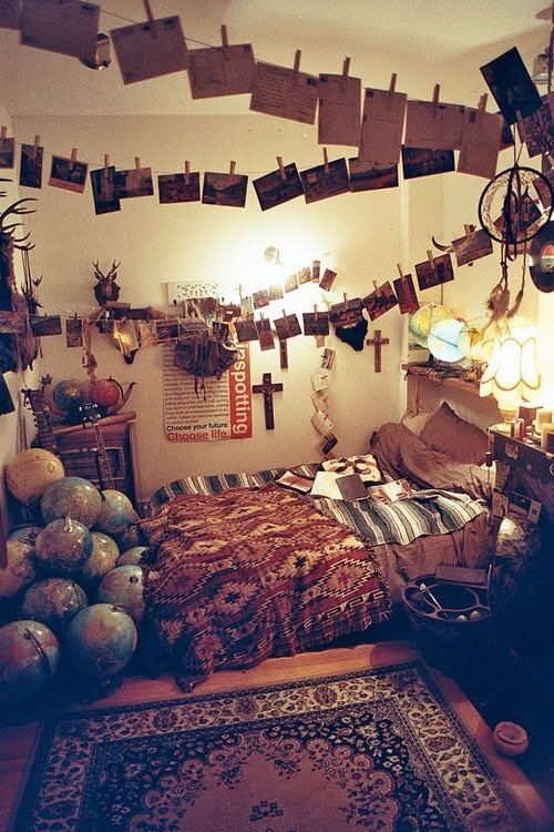 Hippie hour hippie deco dormitorio boho for Cuartos hippies