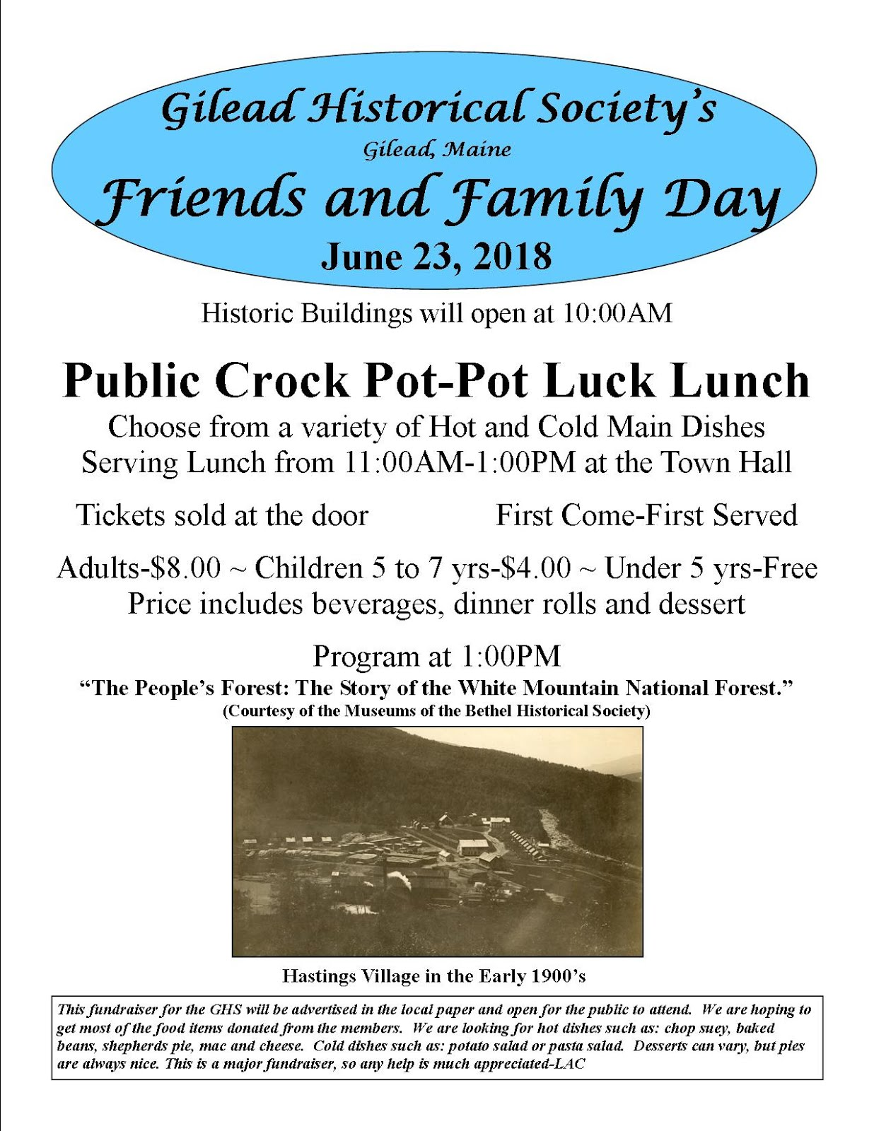 2018 Friends & Family Day