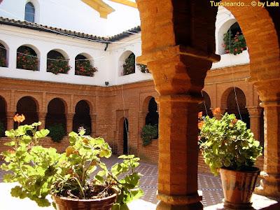 Claustro Mudejar Monasterio Rabida, Huelva