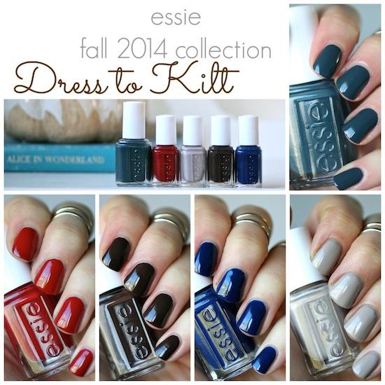 Essie Fall 2014 - Dress to Kilt Collection | Essie Envy