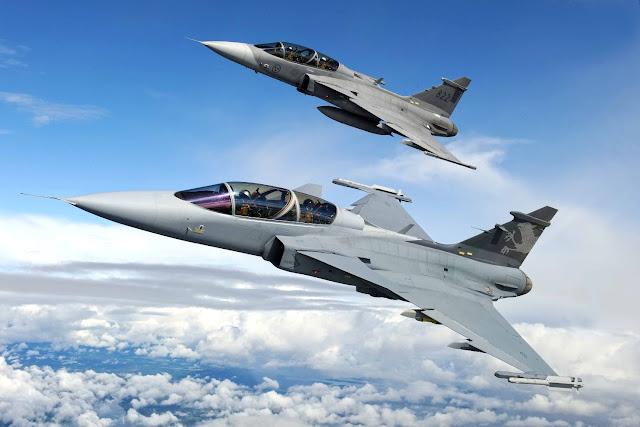 La Fuerza Aérea Brasilera recibirá 36 Gripen NG a partir del año 2019.