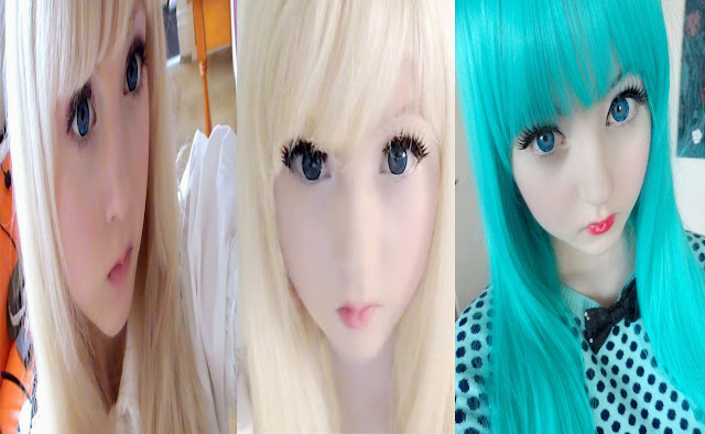 venus angelica gadis mirip boneka barbie