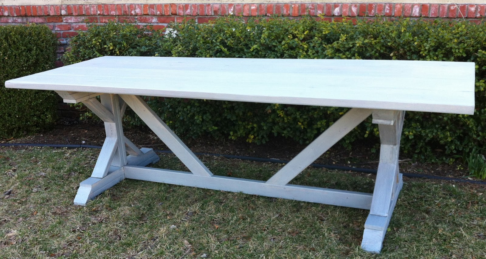 My New Outdoor Dining Table Build - Easy D-I-Y plans, Cost appx $130