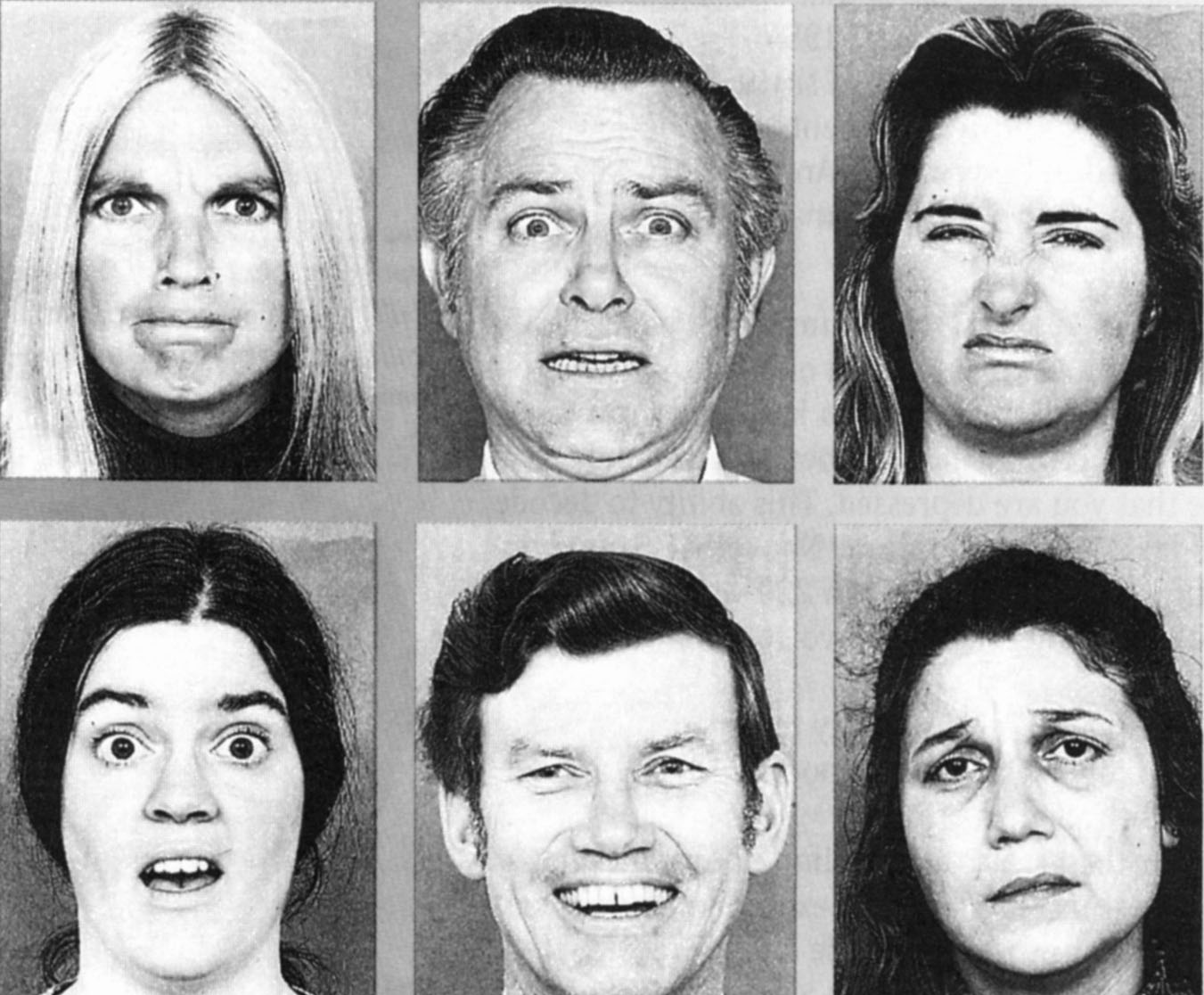 paul ekman s experiment on facial expressionsns Read about lisa barrett's new research on the science of emotion, which debunks paul ekman's theory that directly relates facial expressions to emotions.