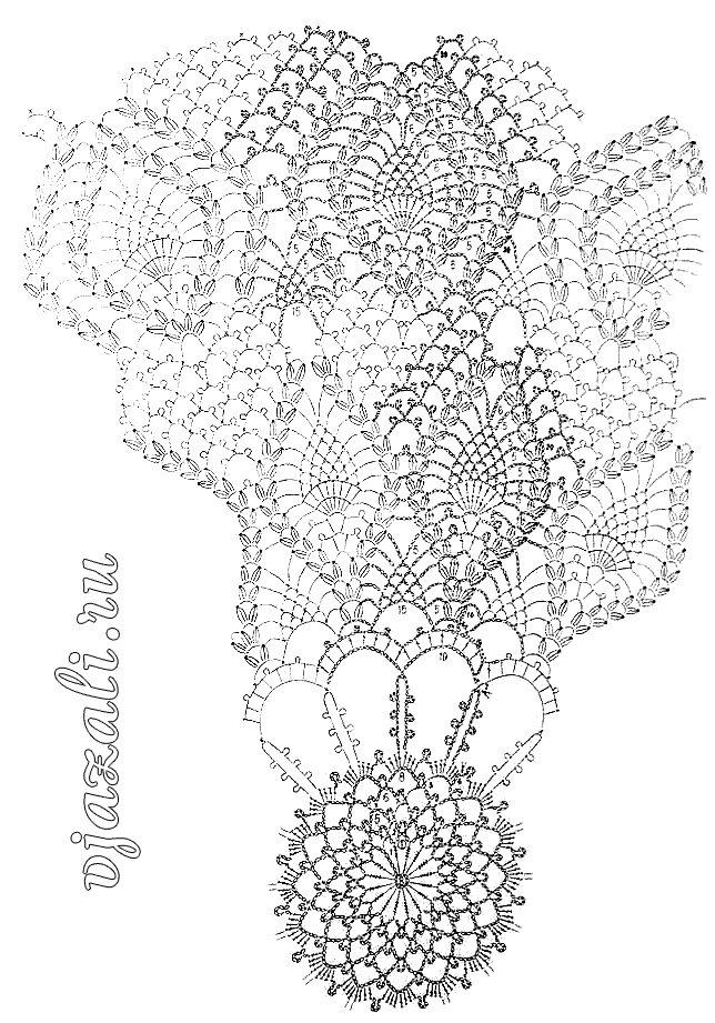 Очень красивая скатерть вязаная крючком.  Примерный размер скатерти 148 х 148 см.