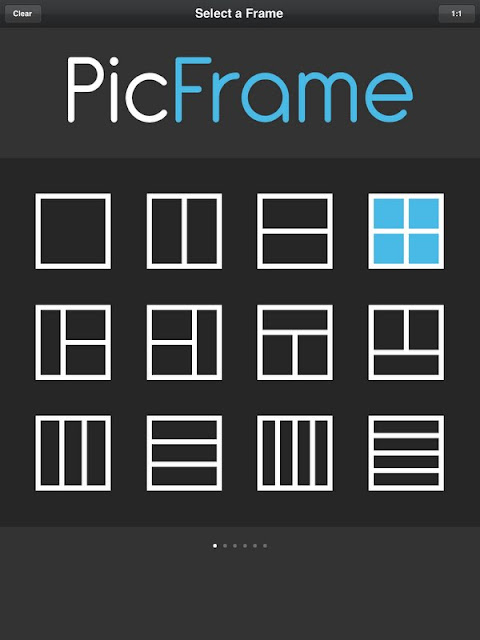 how to create photo collages with PicFrame