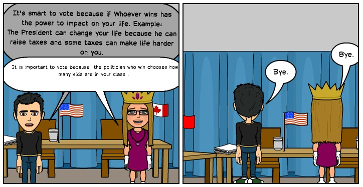 room comics importance of voting the importance of voting by torre and coleman