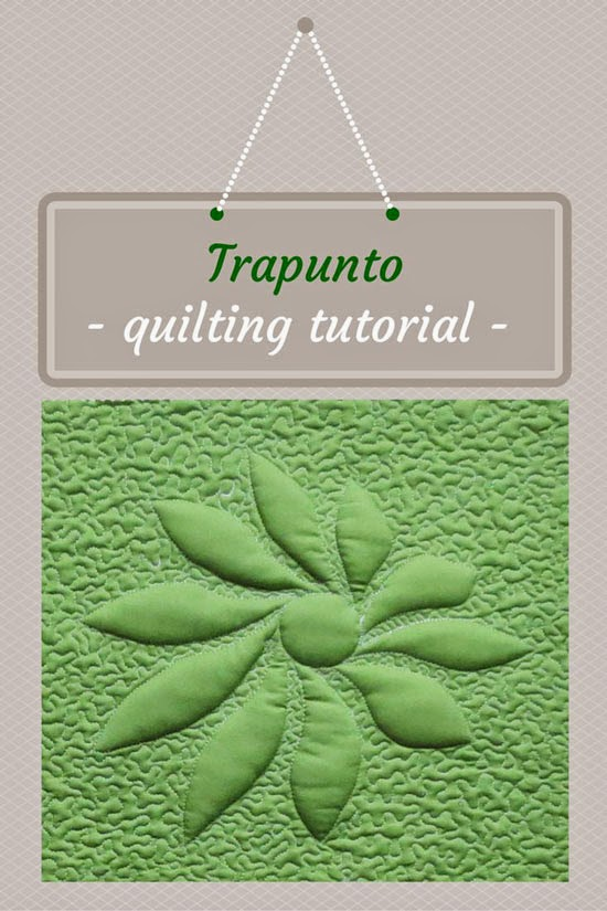 trapunto quilt tutorial