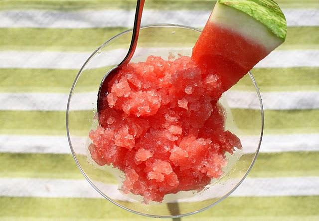 Watermelon Granita » That's So Michelle