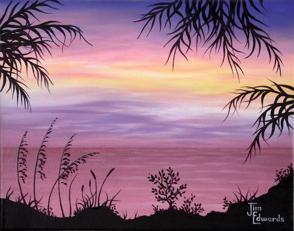 Evening Sunset 11 x 14