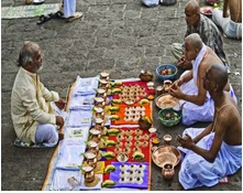 Shradh rites are considered to pacify the souls of dead persons, to take place in the month of September.