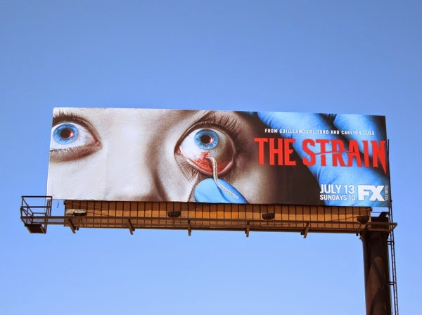 The Strain two eyes billboard