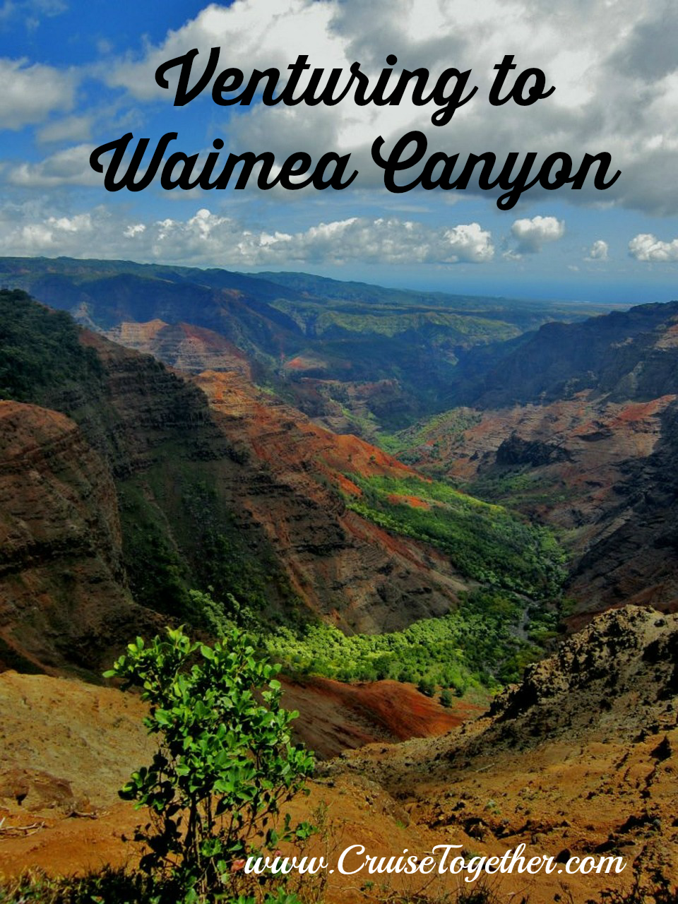 Waimea Canyon - our last stop in Hawaii. CruiseTogether.com
