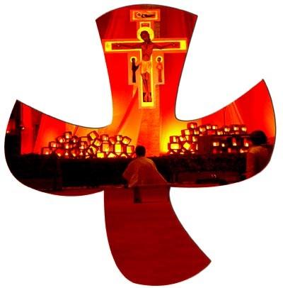 """Citation 5/Pierre/"""" le Christ, le Fils du Dieu vivant """"/ Taize+krzy"""