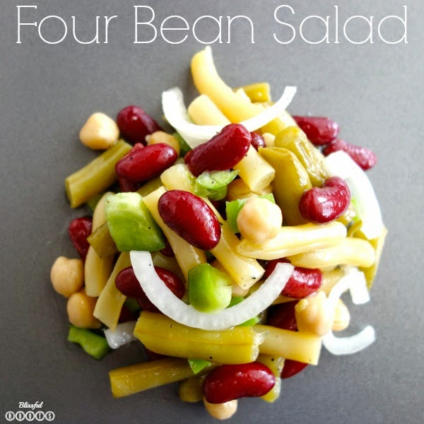 Four Bean Salad @ Blissful Roots