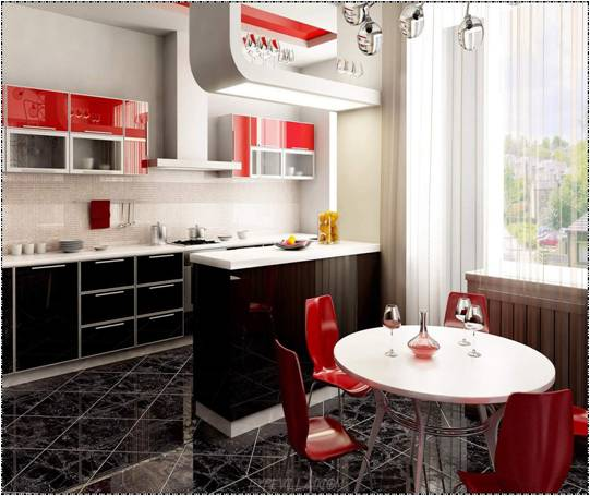 Kitchen Ideas Red: Key Interiors By Shinay: Red Kitchen Ideas