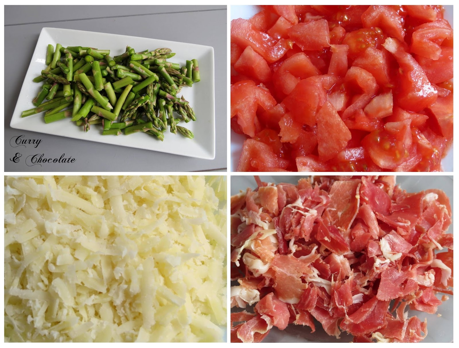 Ingredientes preparados