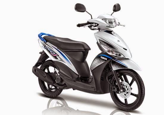 Yamaha Mio J FI Sporty White