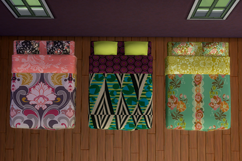 My Sims 4 Blog 18 Veranka Double Bed Mattress Recolors By