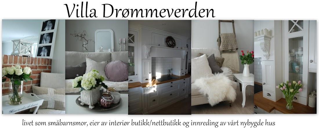 Drømmeverden interiør: Interiørblogg, interiør nettbutikk og husbygger.