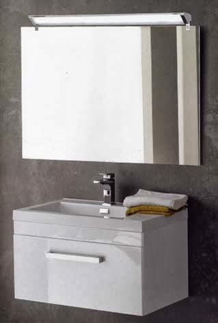 Luminaria apliques para espejo de ba o - Luminarias para bano ...