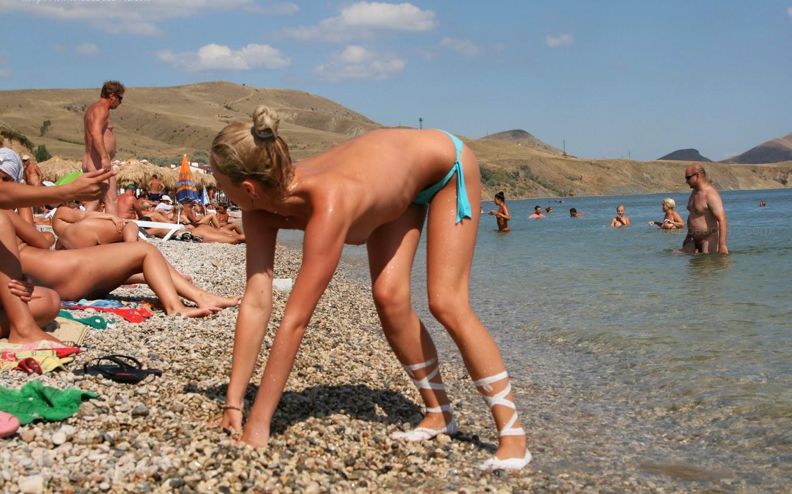 family Crimea nudist