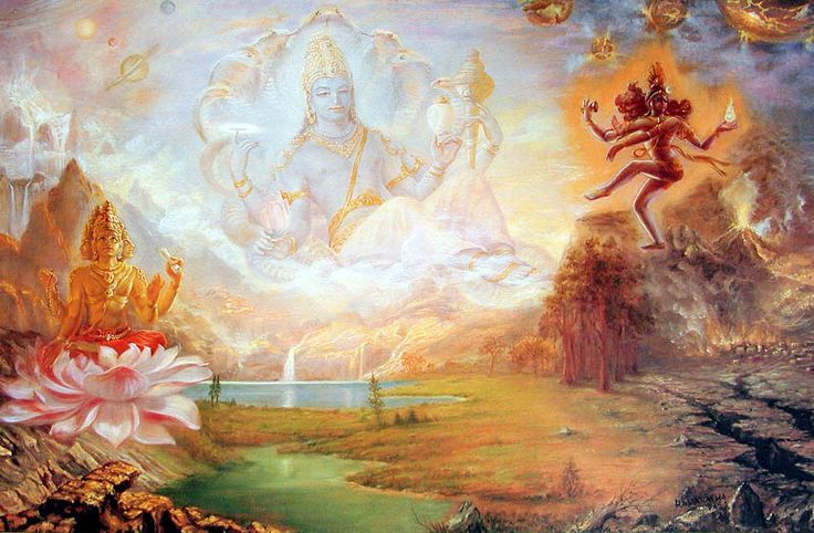 The 3 Most Powerful Gods Of Indian Mythology Trimurti