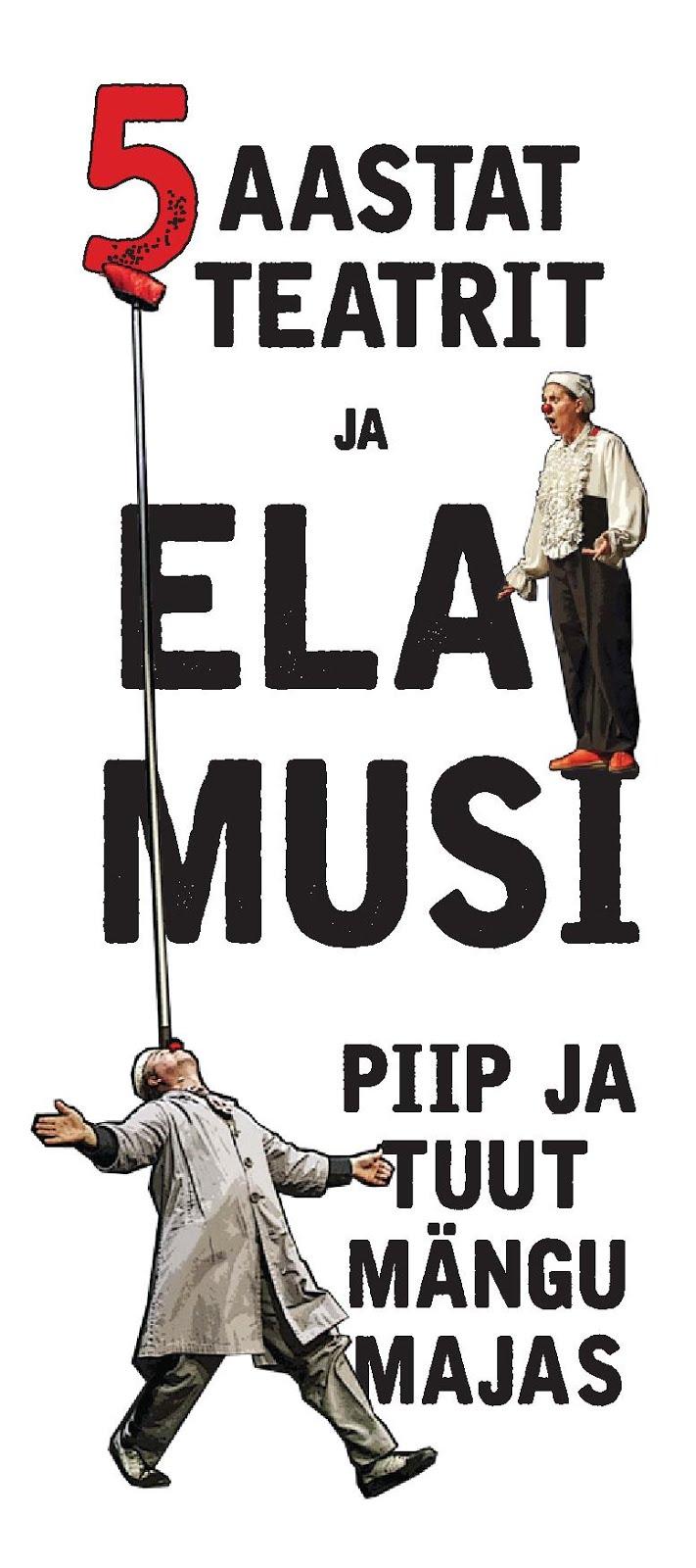 Piip ja Tuut Mängumaja 5. teatrihooaeg