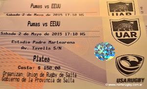 Ya están a la venta las entradas para ver a Los Pumas en Salta