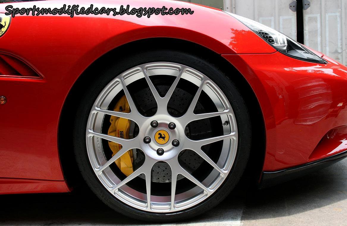 Ferrari California Rides On Vorsteiner Forged V 104