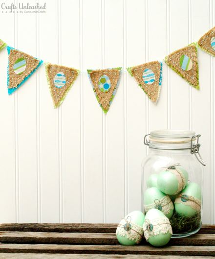 http://www.craftsunleashed.com/decor-home/easter-decor-bunting/