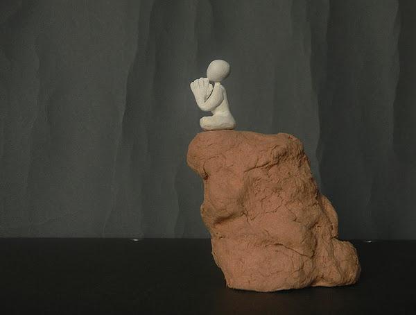 scultura artigianale zen meditazione spiritualità buddha respiro orme magiche