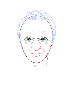 How to draw realistic people - step 3