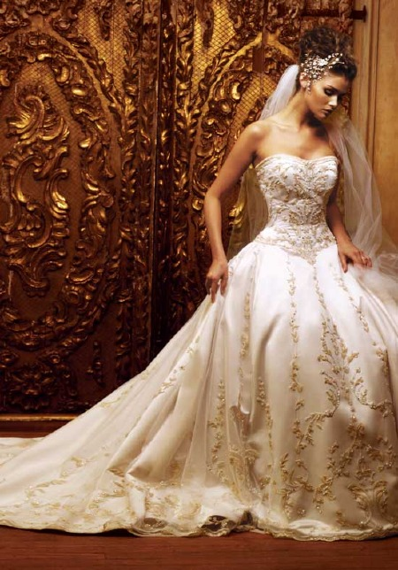 Wedding clothes collection cinderella wedding dress new 2011 for Most gorgeous wedding dresses
