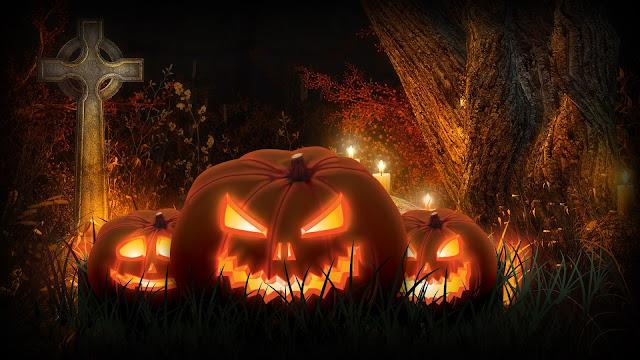 Haloween Scary Pumpkins