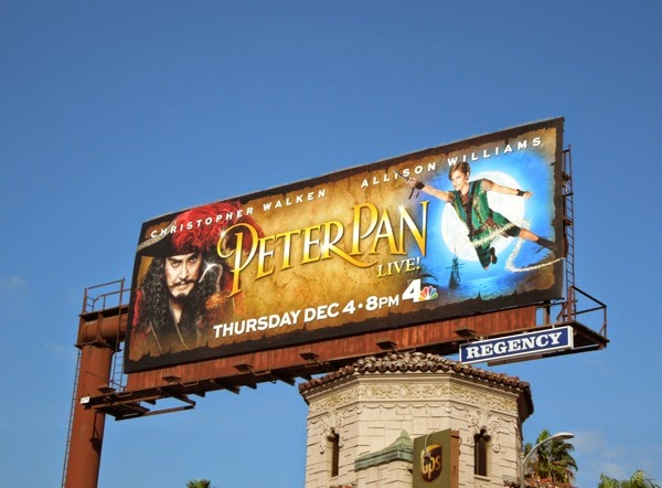 Peter Pan Live! billboard