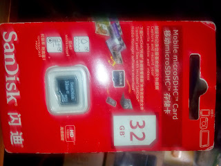 Micro-sd sandisk 32 GB Aceh Timur