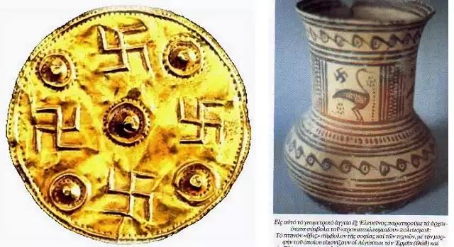 Μαιάνδρος - σβάστικα σύμβολο του Άπειρου και της Αιώνιας Ζωής! ξυπνάει το υποσυνείδητό και την διαίσθηση