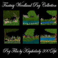 Fantasy woodlands Png Collection